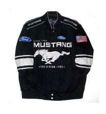AUTHENTIC FORD MUSTANG JH DESIGN COTTON TWILL ADULT MENS L LARGE JACKET BNWT