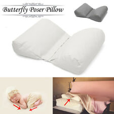 Soft Newborn Infant Baby Photography Posing Butterfly Pillow Backdrop Photo Prop