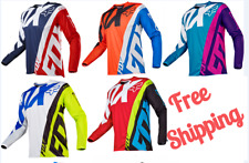 Motocross Racing Jersey FOX Extreme Sports 4 Color Off Road Clothing Quick Dry
