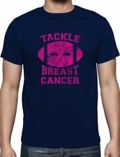 Tackle Breast Cancer Pink Ribbon Support Awareness T-Shirt Fight