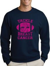 Tackle Breast Cancer Pink Ribbon Support Awareness Sweatshirt Fight