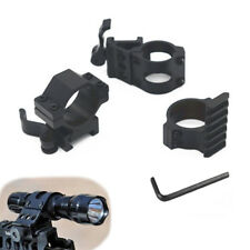 New Offset For Picatinny Weaver Rail Mount Flashlight Quick Release Set