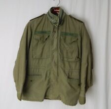 US Navy Seabees M-65 Cold Weather Field Jacket Coat Small USGI Vintage With Hood