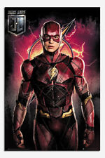 Justice League Flash Solo Poster New - Maxi Size 36 x 24 Inch