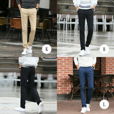Straight pants Multi-color ultra-thin pants Men's trousers Autumn Casual pants