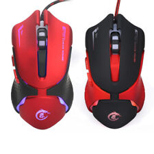 Professional Wired Gaming Mouse 6 Button 3200DPI LED USB Game Mouse For PC