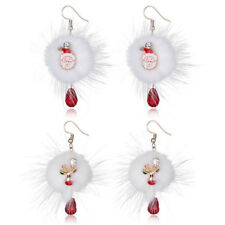 1 Pair Earring Crystal Fashion Christmas Jewelry Women Earring Christmas Series