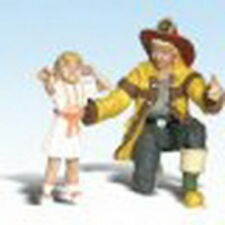 Woodland Scenics A2539 G Scale Fireman Bill & Betsy Figures