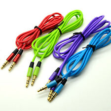 3.9ft 3.5mm Stereo Male to Male Cable Cord Headphone Speaker Audio for PC mp3