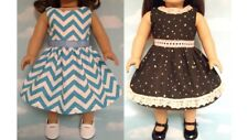 """Dress handmade to fit 18"""" American Girl Doll 18 inch Doll Clothes 25ab"""