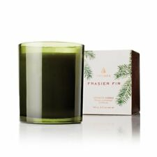 Christmas Aromatic Candle Fir Poured Pine Glass Jar 6.5oz Mountain Forest Scent