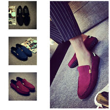 1 Pair Suede Leather Men Loafers Mens Casual Shoes Mens Peas Shoes