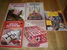 Quilting Patchwork and Applique Books
