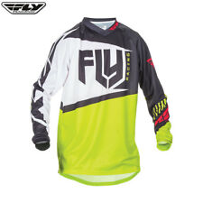 Fly Racing 2017 F-16 Youth Jersey Black/Lime MX Motocross Enduro Offroad ATV