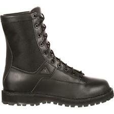 Rocky Men's Portland Lace-to-toe Waterproof Duty Boots Black FQ0002080