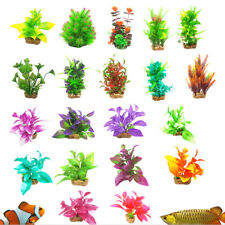 Aquarium Fish Tank Artificial Plastic Water Plant Aquatic Grass Tank Decoration