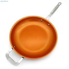 Kitchen Tool Pan Copper Frying New Ceramic Nonstick Non Stick Steel Fry 12 inch