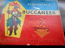 Vintage 1958 Buccaneer Waddingtons Board Game - Replacement Spare Parts / Spares