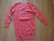 NWT Old Navy Women's Open Pointelle Sweaters CORAL M