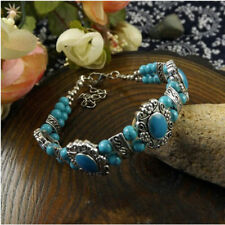 Beads Tibet Bead Collectables Jade Multicolor Bracelet Turquoise New