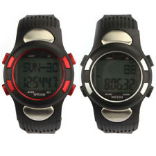 Fitness 3D Pedometer Calories Counter Watch Pulse Heart Rate Monitor