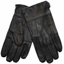 New Mens Thermal Lined Soft Leather Smart Plain Winter Dress Gloves