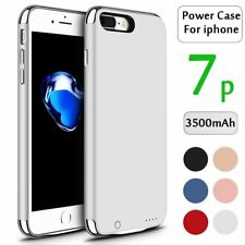 3500mAh External Power Bank Battery Backup Charger Case Cover For iPhone 7 plus
