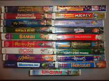 New DISNEY VHS Movies LOT!  (Pick Movies & add them to the cart) Low $$ Shipping