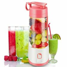 Portable Blender USB Rechargeable Electric Fruit Juicer Cup Smoothie Shake Mixer