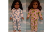 """Pajamas handmade for 18"""" American Girl Doll to fit 18 inch Doll Clothes 400ca"""