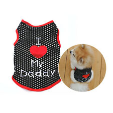 Puppy Clothes Sleeveless Vest T-Shirt Pet Dog For Dog Apparel Clothing