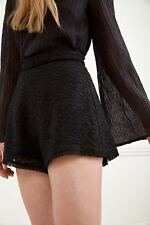 NEW Women's Shorts Static Space Short Black By C/Meo Collective