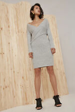NEW Women's Dresses Evolution Knit Dress Marle Grey By C/Meo Collective