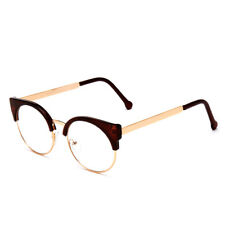 Retro Women Cat Eye Eyeglass Frame Clear Glasses Lens Spectacles Eyewear Optical