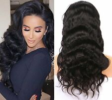 Hot 100% Virgin Human Hair Lace Front Wig Glueless Full Lace Wig With Baby Hair