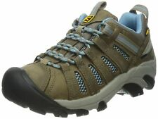 KEEN 1011523 : Women's Voyageur Hiking Shoe, Brindle/Alaskan Blue
