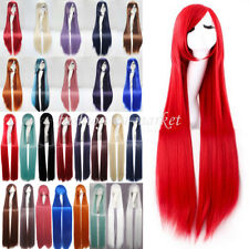 Halloween Cosplay Wig Long Hair Costume Wigs Anime Hair Wig Fancy Dress Full Wig
