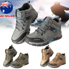 AU Mens Big Size Trail Hiking Boots Waterproof Athletic Non Slip Outdoors Shoes