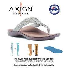 AXIGN™ Alexa Premium Orthotic Arch Support Flip Flops (SAND) - Foot Pain Relief