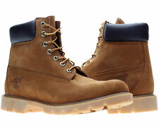 Timberland 6-Inch Basic W/Padded Collar Waterproof Rust Men's Boots 19076