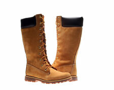 Timberland Asphalt Trail Classic Tall Wheat Nubuck Junior Girls Boots 83980