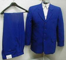 MENS SB BLUE DRESS SUIT Size 50L 50 L LONG NEW SUITS