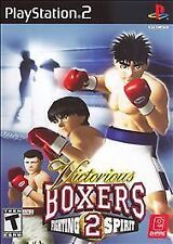 Victorious Boxers 2: Fighting Spirit (Sony PlayStation 2, 2006) new sealed