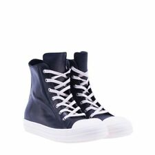 RICK OWENS 17ARU17F8890LPO#9191 men Sneakers BLACK + WHITE NEW  made in Italy OU