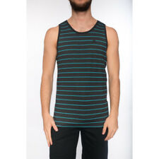 Hurley Drifit Lagos Tank Mens Vest - Blackest Heather All Sizes