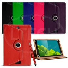 Fits Android 7 inch Tablet - 360 Swivel Spin Universal Case & Pen