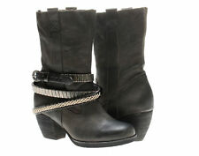 Antelope 663 Ankle Booties Black Women's Boots 663-Black