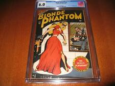 BLONDE PHANTOM #12 TIMELY 1946  CGC UNIVERSAL 6.0  1ST ISSUE