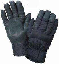 Black - Thermoblock Insulated Cold Weather Nylon Gloves