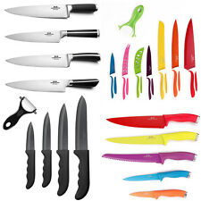 ULTRA SHAPE CHEF KNIFE SET KITCHEN COOK'S STEAK KNIVES SET STAINLESS STEEL BLADE